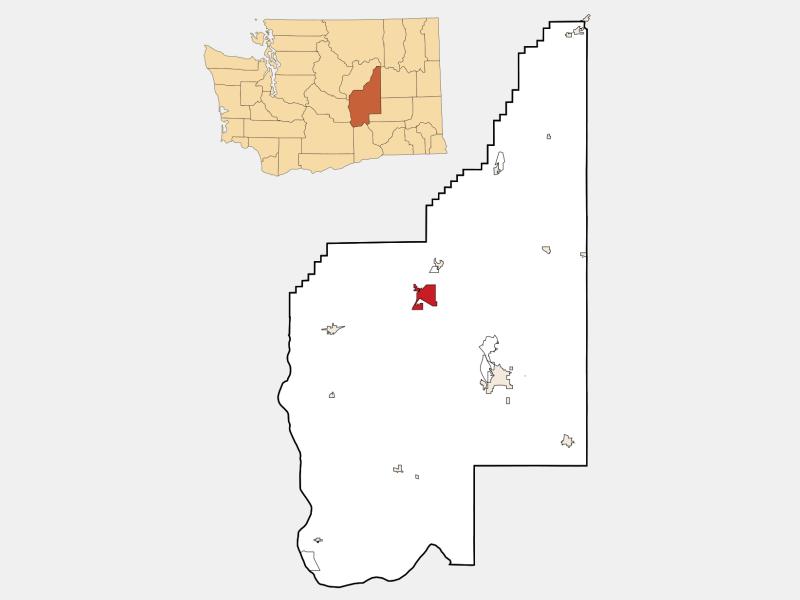 Ephrata locator map