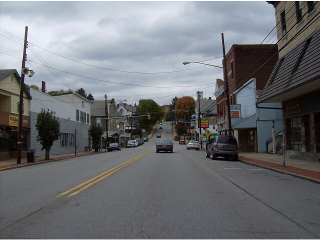 Downtown Evans City Pennsylvania image