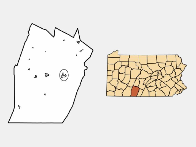 Everett locator map