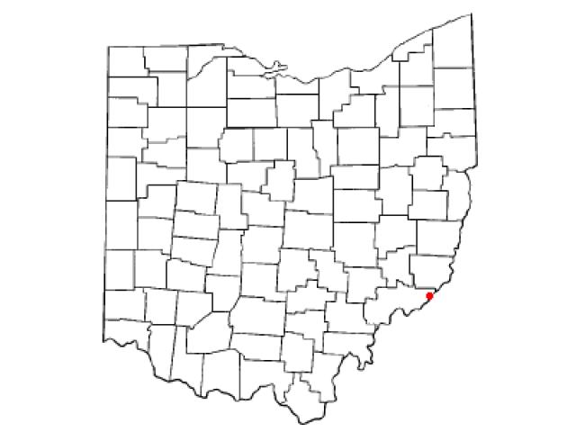 Matamoras locator map