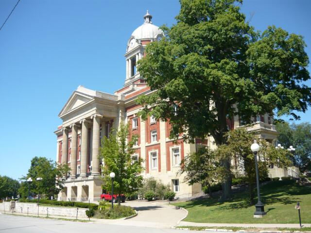Mercer County Courthouse Pennsylvania 2010 image
