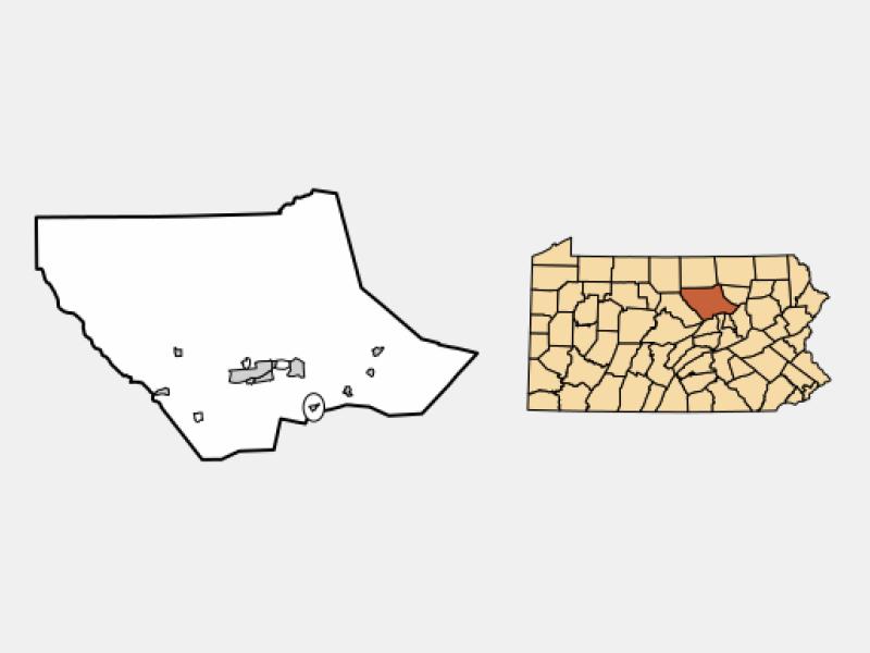 Montgomery location map