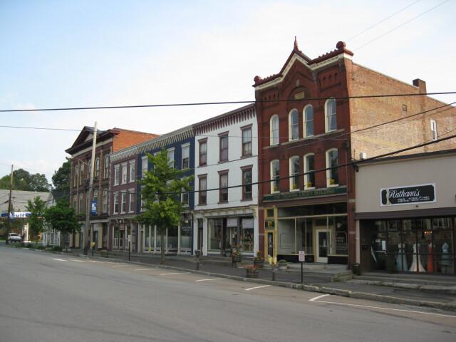Downtown Montrose  Pennsylvania image