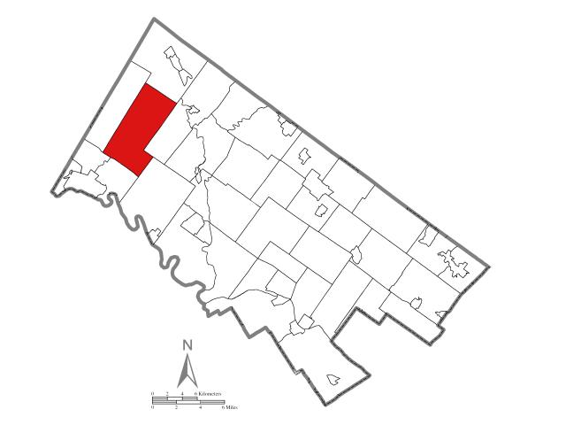 New Hanover locator map