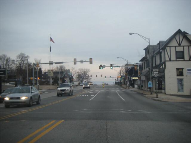 US 30 EB at Valley Road Paoli image