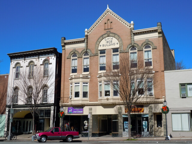 Building of the Order of Independent Americans  Pottstown  Pennsylvania image