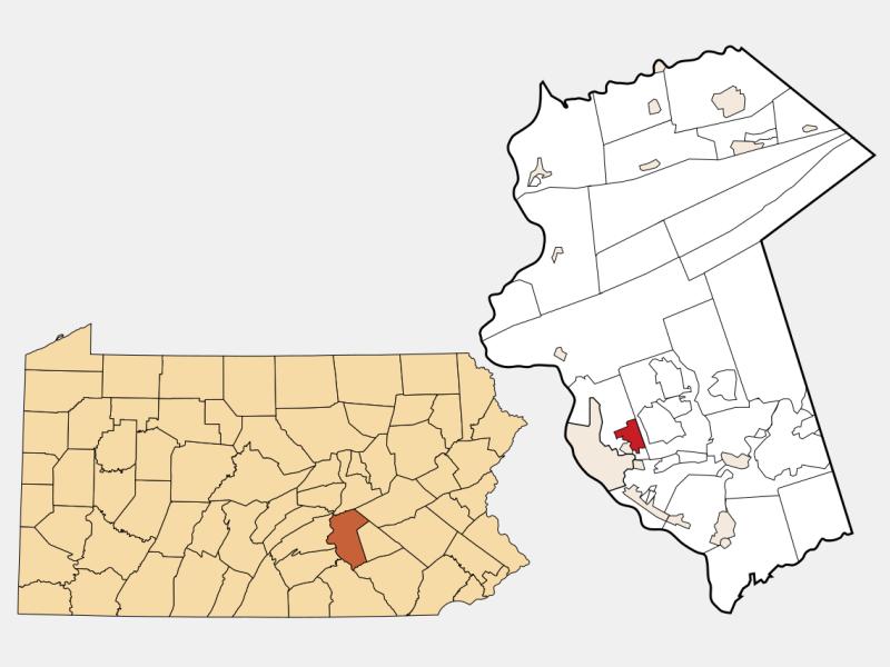 Progress locator map