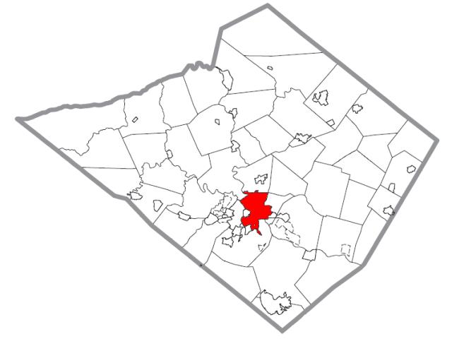 Reading locator map