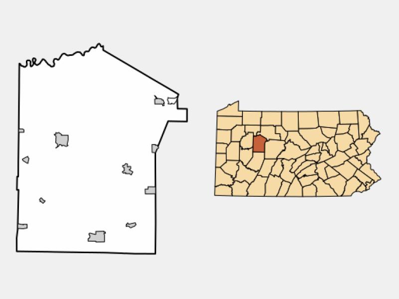 Reynoldsville location map