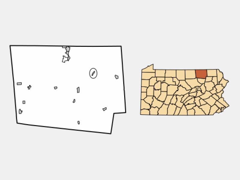 Rome location map