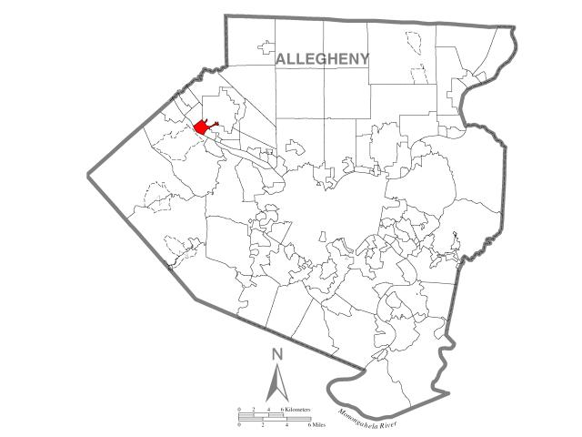 Sewickley location map