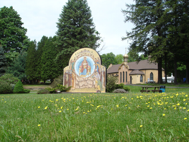 The Holy Theotokos Ikon  St. Tikhon%27s Monastery image