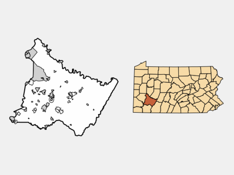 South Greensburg location map