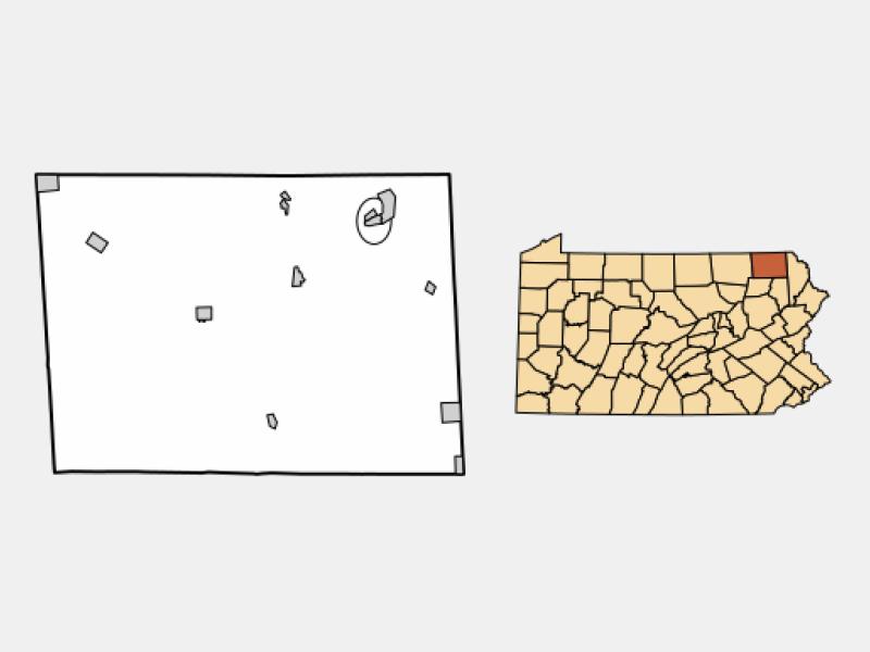 Susquehanna locator map