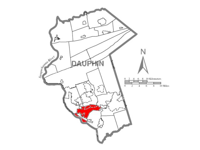 Swatara locator map