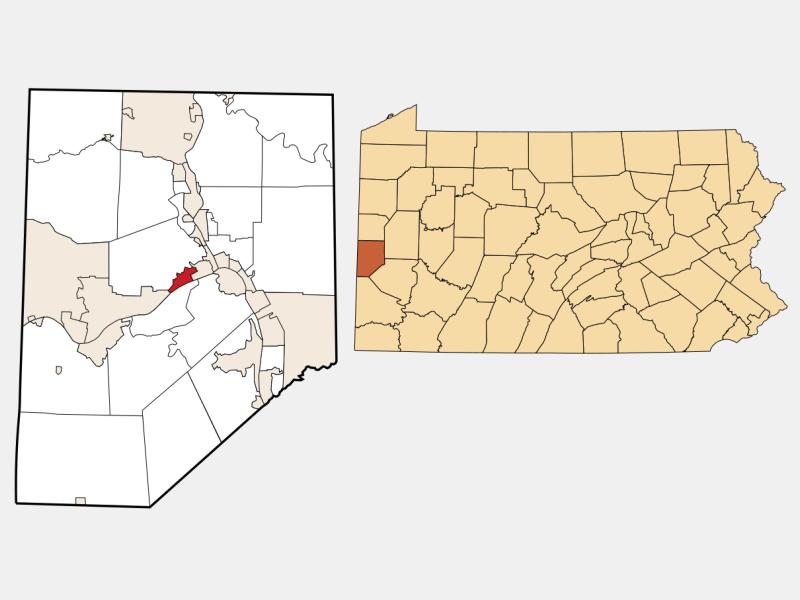Vanport locator map