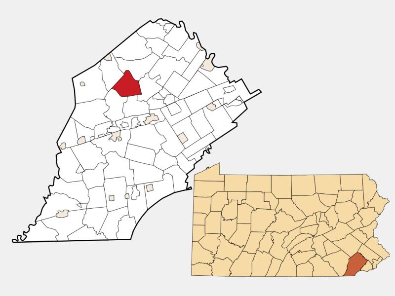 Wallace locator map