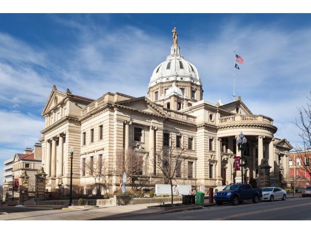 Washington County Courthouse 'Pennsylvania' south image