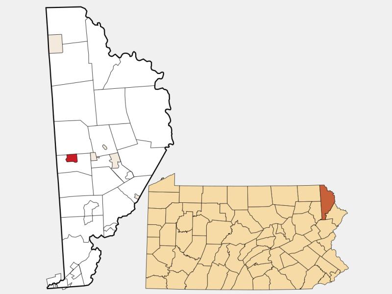 Waymart locator map