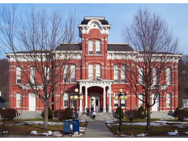 Wayne County courthouse mod image