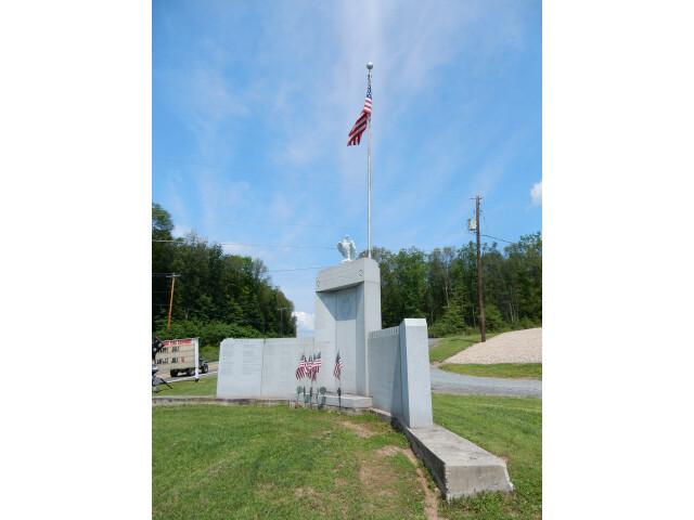 War Memorial West Penn Twp  Schuylkill County PA image