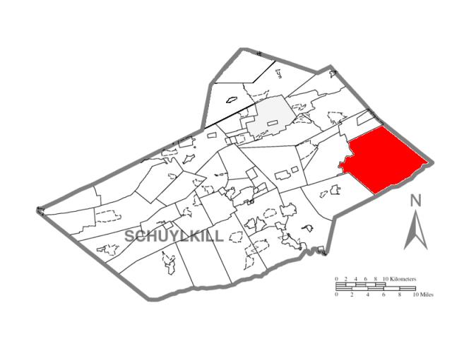 West Penn locator map