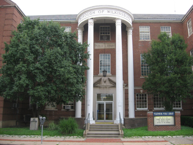 Wilkinsburg municipal building and library image