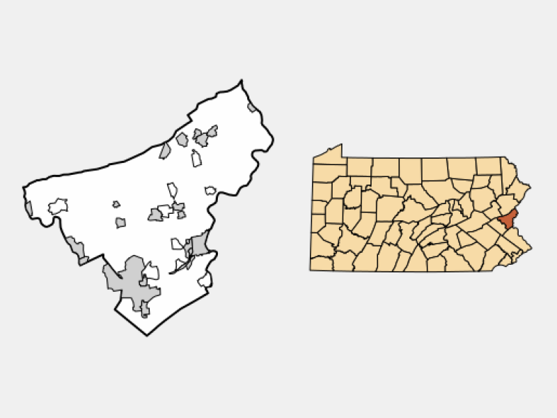 Wilson location map
