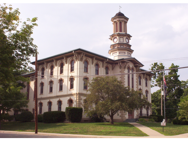 Wyoming co pa courthouse image