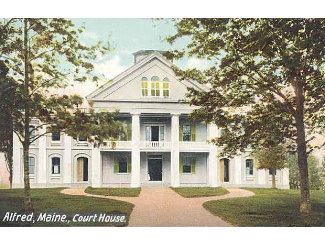 York County Courthouse  Alfred  ME image