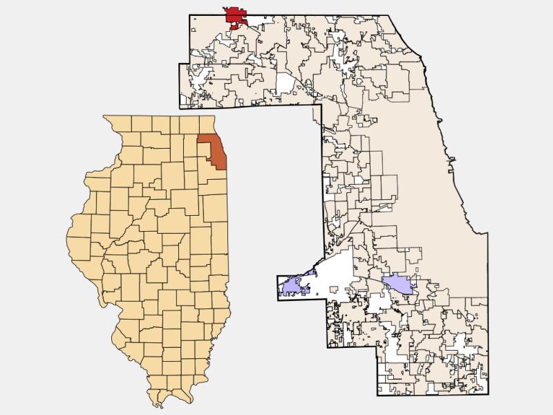 Barrington location map