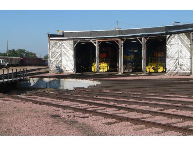 Huron  SD  Chicago-Northwestern roundhouse  turntable 2 image
