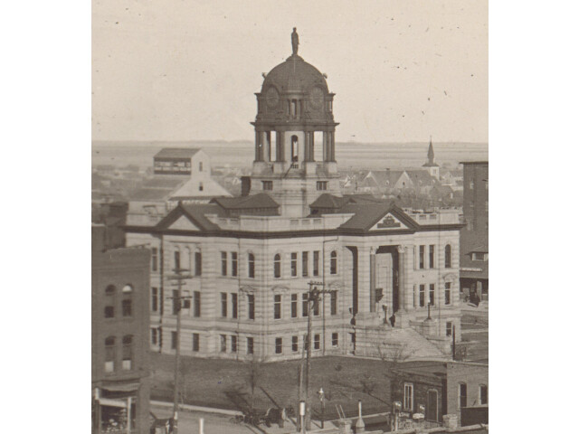 Brown County Courthouse 'Aberdeen' - restored image