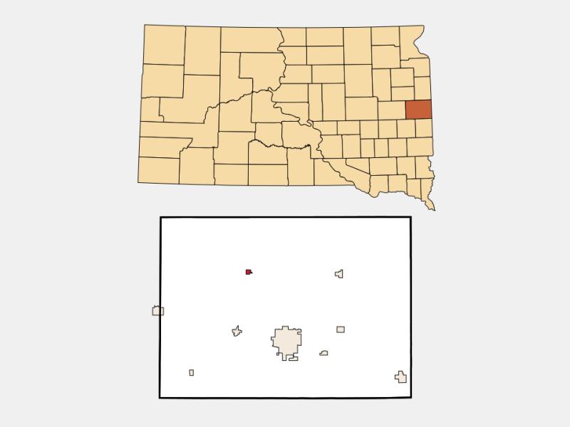 Bruce location map