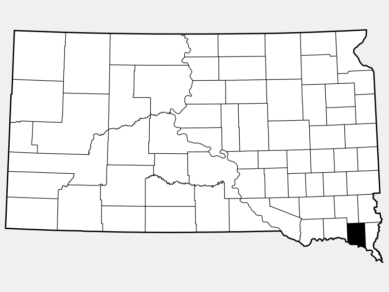 Clay County locator map