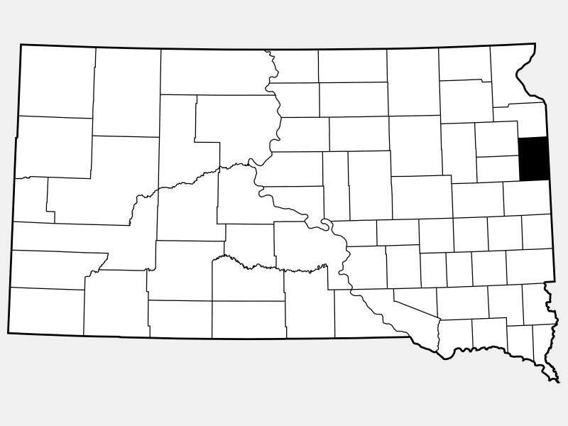 Deuel County locator map