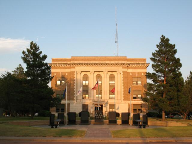 Douglas County  South Dakota courthouse 2 image