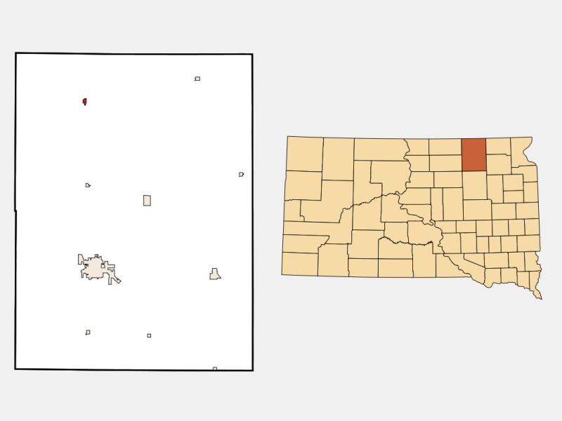 Frederick locator map