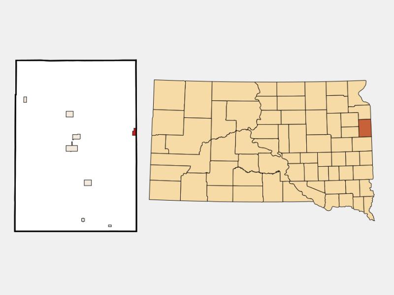 Gary location map
