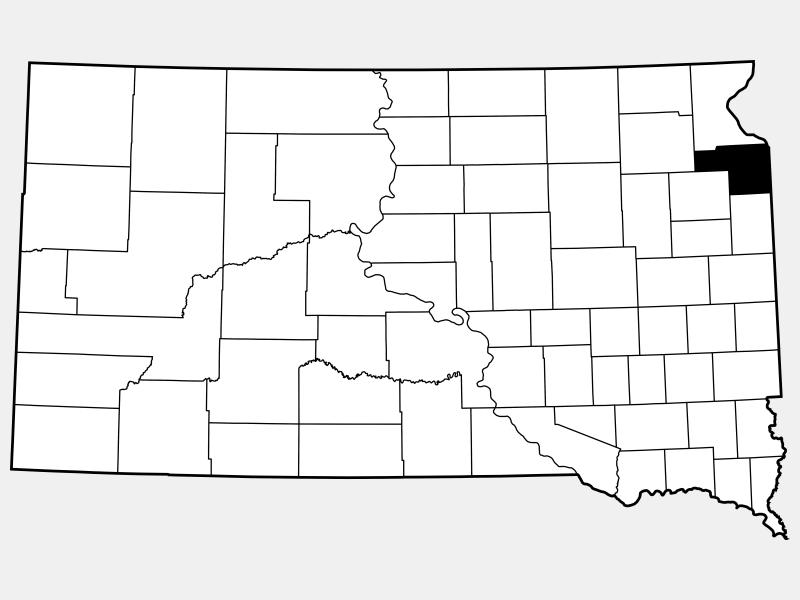 Grant County locator map