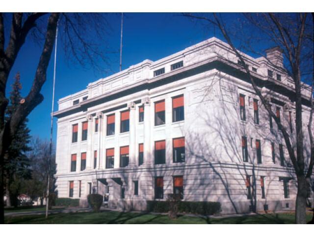 Hamlin County Courthouse Hayti image