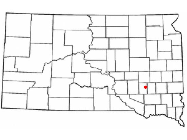 Mitchell locator map