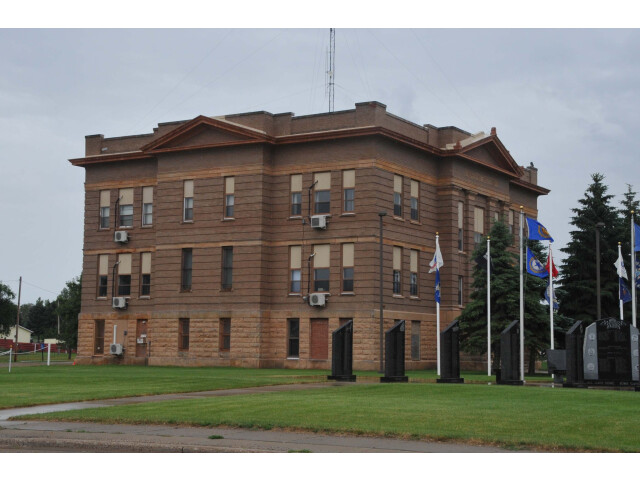 POTTER COUNTY COURTHOUSE  GETTYSBURG  SD image