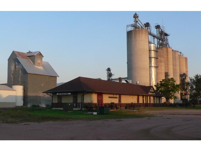 Beresford  SD depot from NW 2 long image