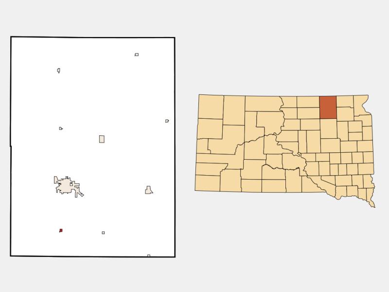 Warner locator map