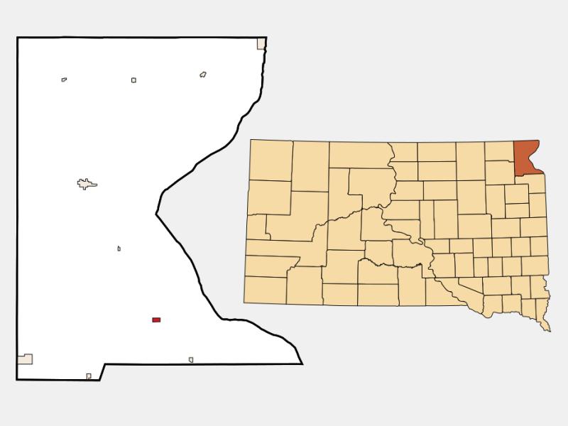 Wilmot locator map