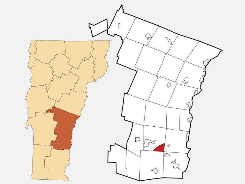 Baltimore locator map