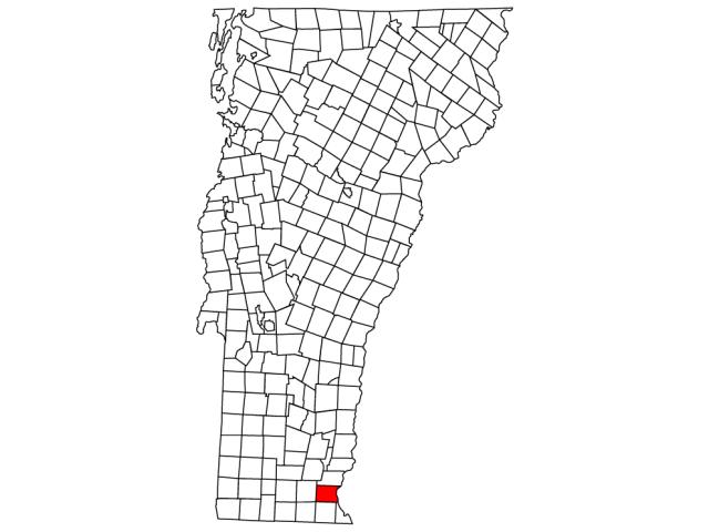 Brattleboro locator map