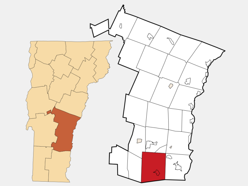 Chester locator map