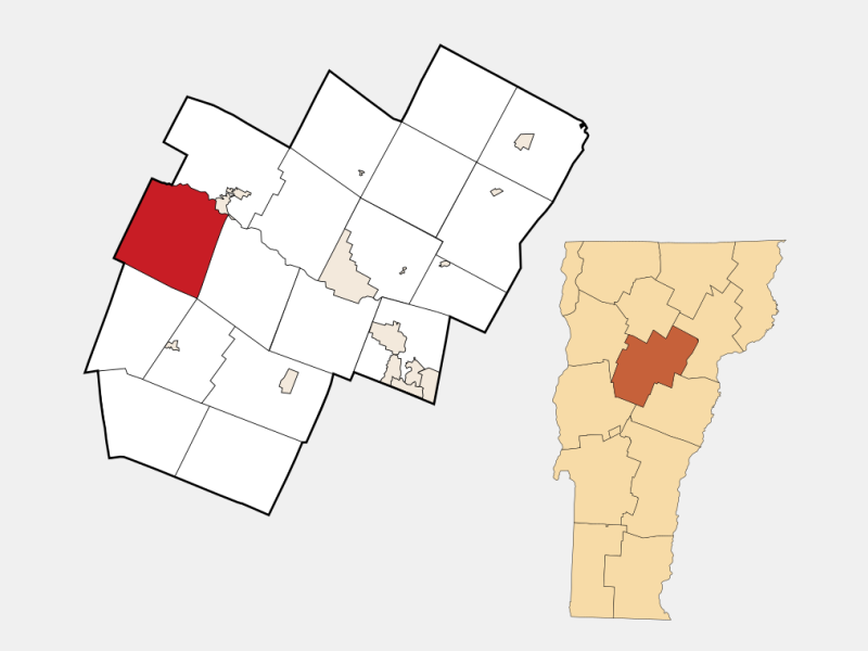 Duxbury locator map